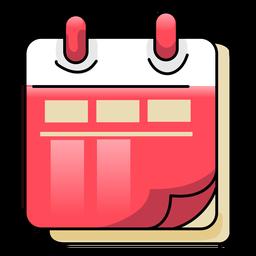 Kalender flach