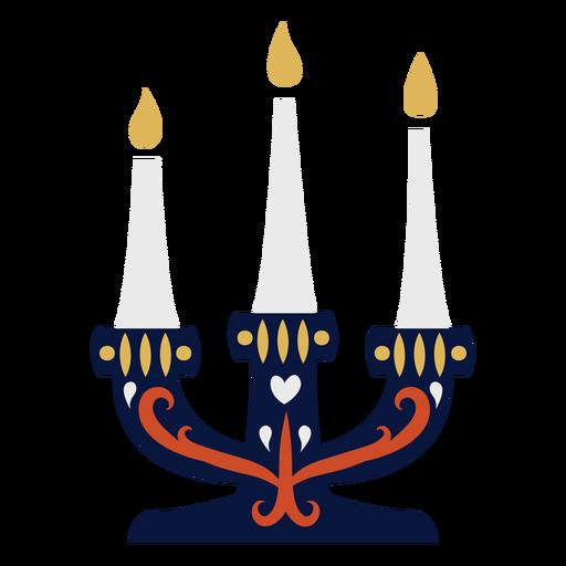 Candle candlestick flat Transparent PNG