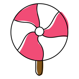 Sugarplum doce plana
