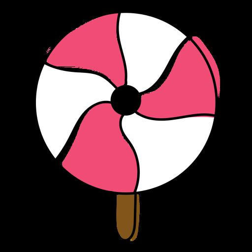 Candy sugarplum flat