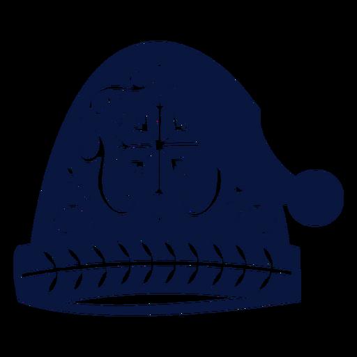 Cap hat detailed silhouette Transparent PNG