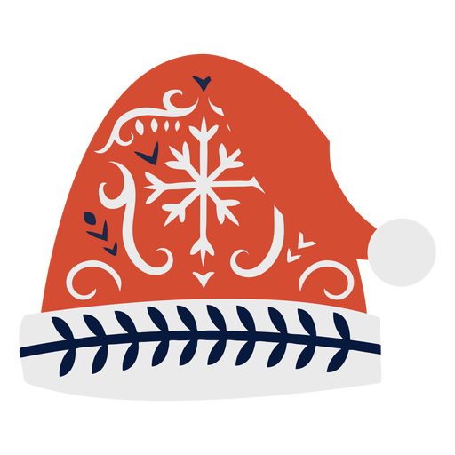 Cap hat flat christmas scandinavian