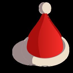 Cap hat isometric