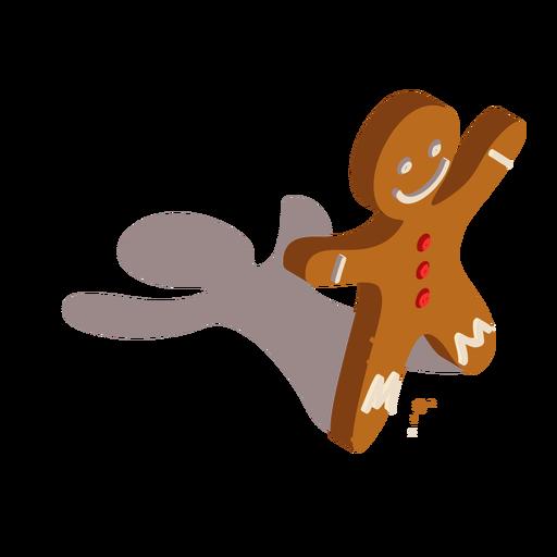 Cookie Lebkuchen isometrisch