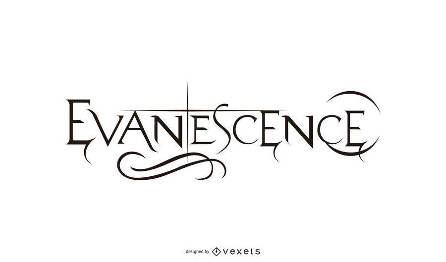 Evanescence: Logotipo de la banda de rock