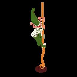 Corda de elfo isométrica
