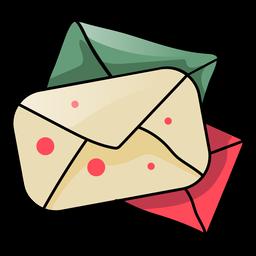 Envelope letter flat