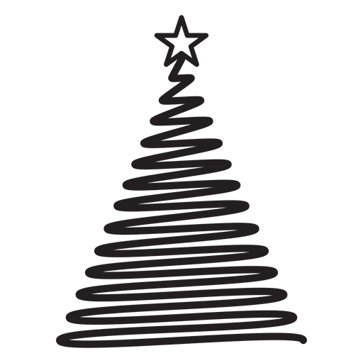 Abeto rizo estrella encaje remolino plano Transparent PNG