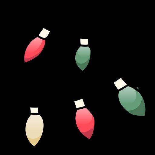 Garland ball cone flat