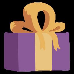 Arco de caixa de presente liso