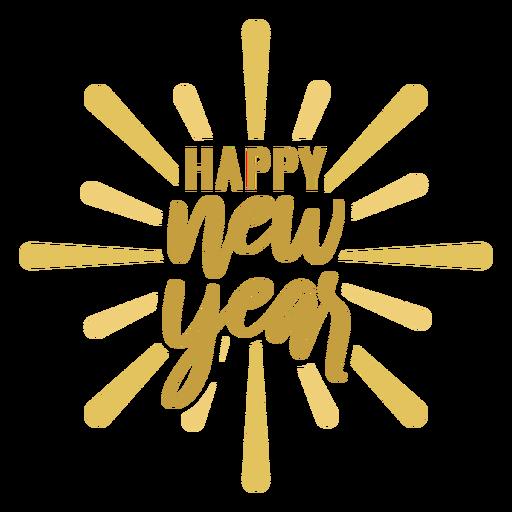 Feliz año nuevo Transparent PNG