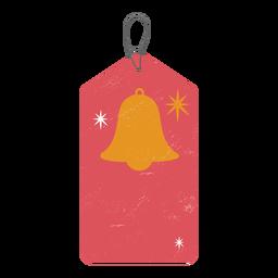 Label bell badge sticker