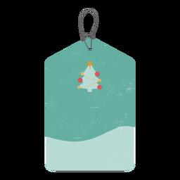 Label fir badge sticker
