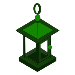 Lamp light isometric