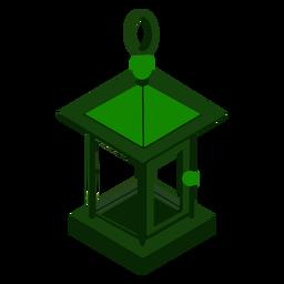 Lâmpada isométrica