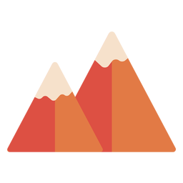 Mountain peak flat