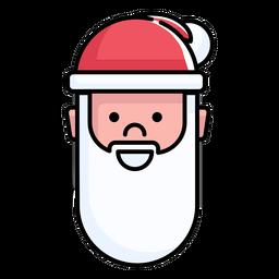 Santa claus flat