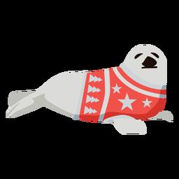 Seal flat xmas