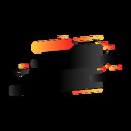 Autocolante de distintivo de marca de sinal