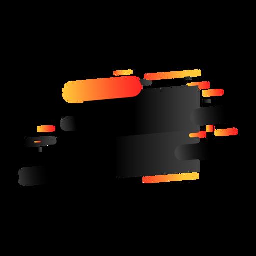 Etiqueta de marca tableta insignia