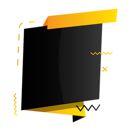 Sign tablet zigzag plus badge sticker