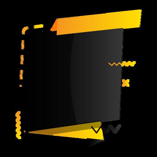 Sign tablet zigzag plus etiqueta adhesiva