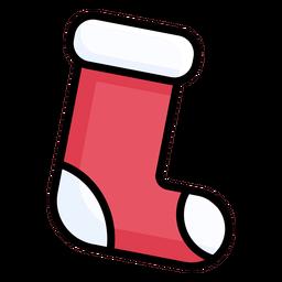 Calcetín plano de media