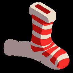 Sock stocking isometric