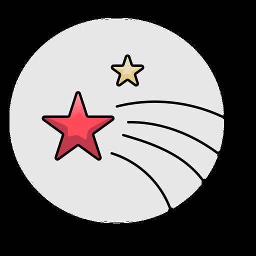 Rayo estrella plano