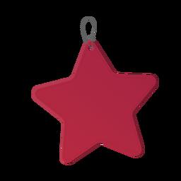 Adesivo estrela distintivo