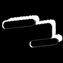 Adesivo de distintivo de sinal de tablet