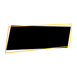Distintivo de etiqueta do retângulo de sinal de tablet