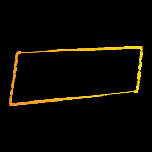 Insignia de la etiqueta engomada del rectángulo de la muestra de la tableta Transparent PNG