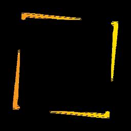Insignia de etiqueta cuadrada de signo de tableta