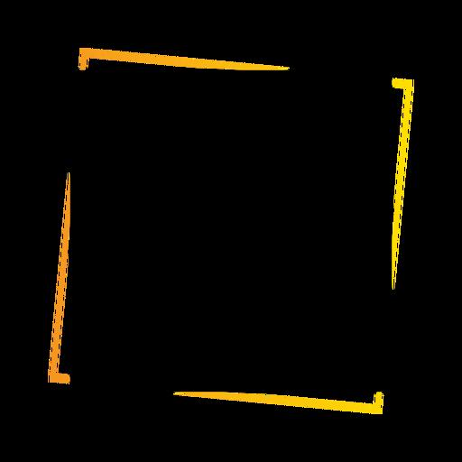 Tablet sign square sticker badge