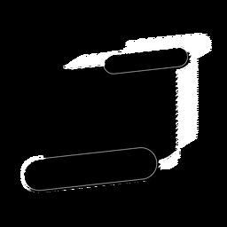 Distintivo de etiqueta de sinal de tablet