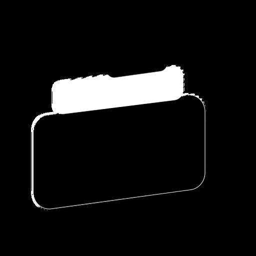 Tablet sign stripe sticker badge