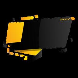 Tableta signo zigzag plus insignia