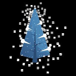 Tree branch trunk flat christmas