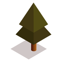 Isométrico del árbol