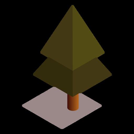 Tree isometric Transparent PNG