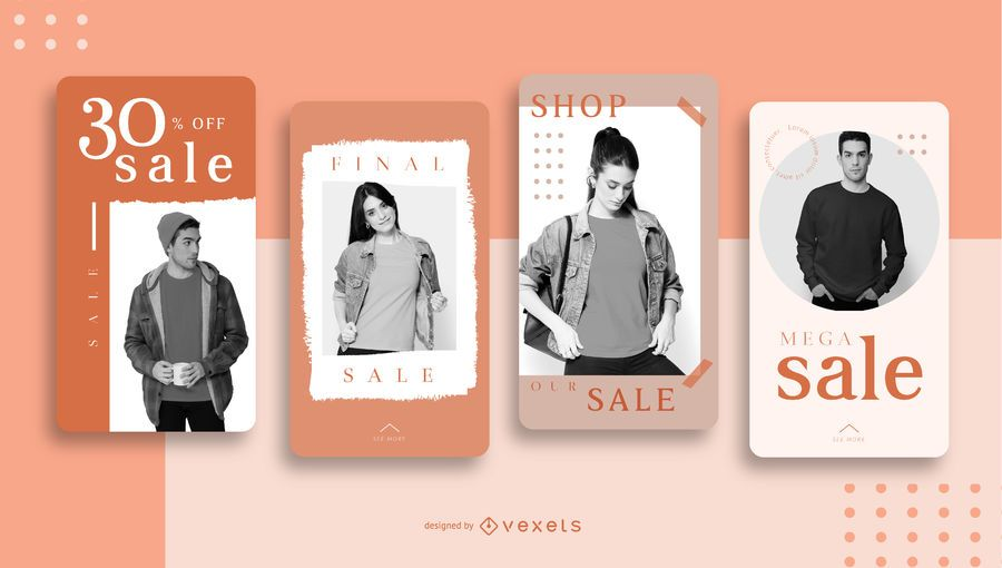 Social Media Sale Template Pack