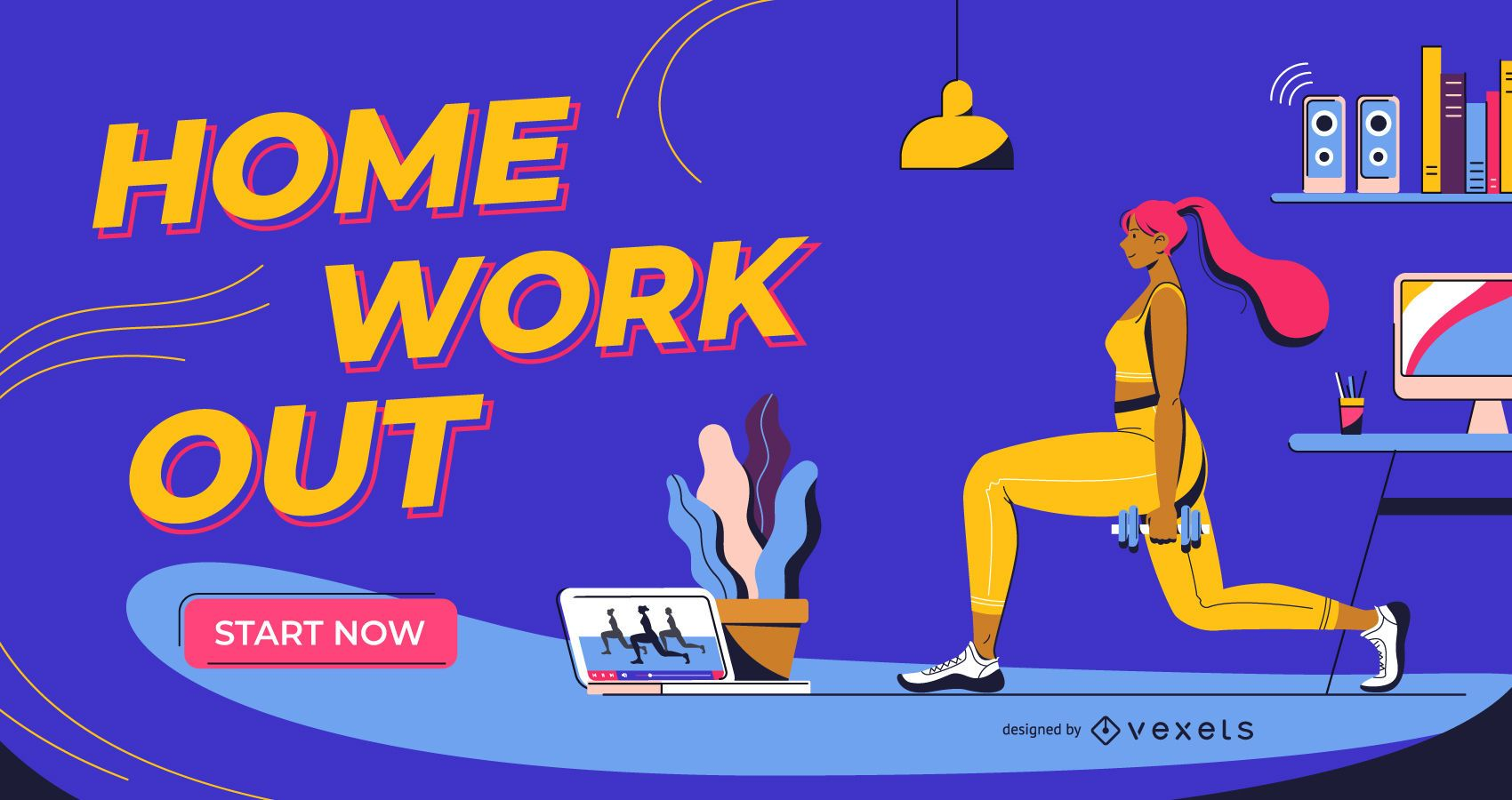 Home Workout Slider Design
