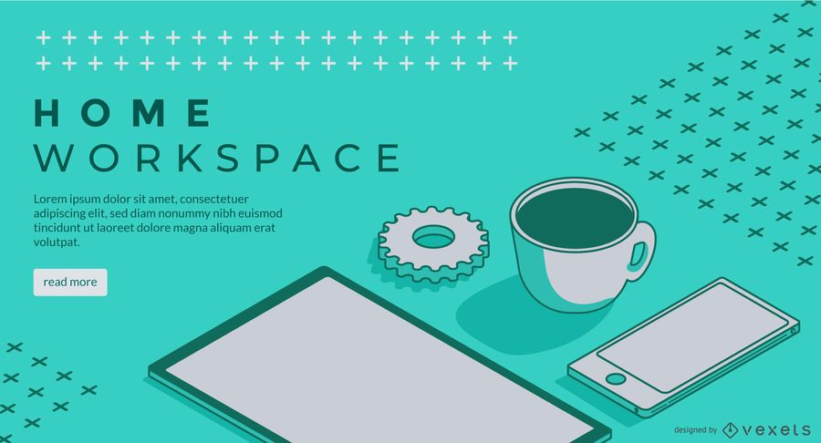 Home Office Web Slider Design