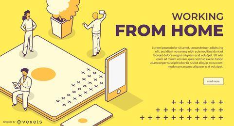 Trabajando desde el control deslizante de inicio web