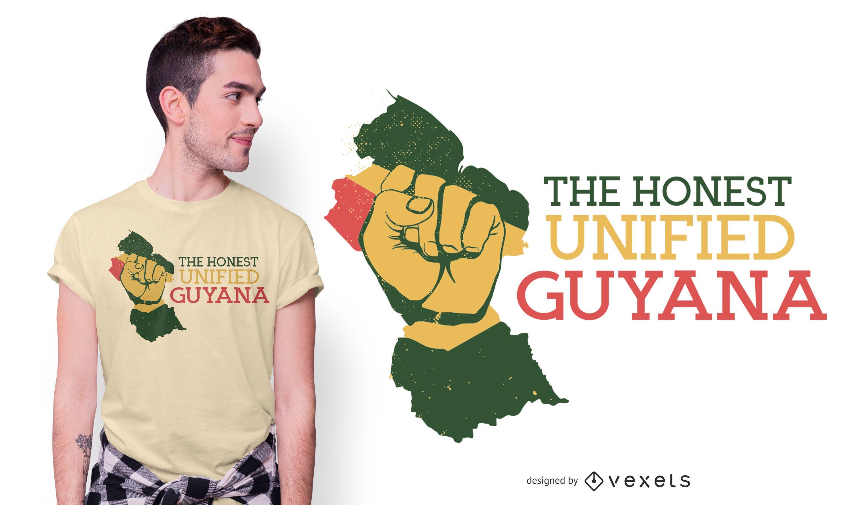 Guyana Quote T-shirt Design