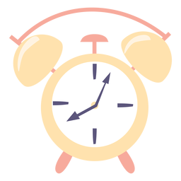 Alarm clock flat icon