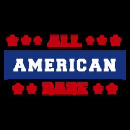 Letras de nena americana