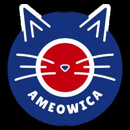 Diseño de gato Ameowica