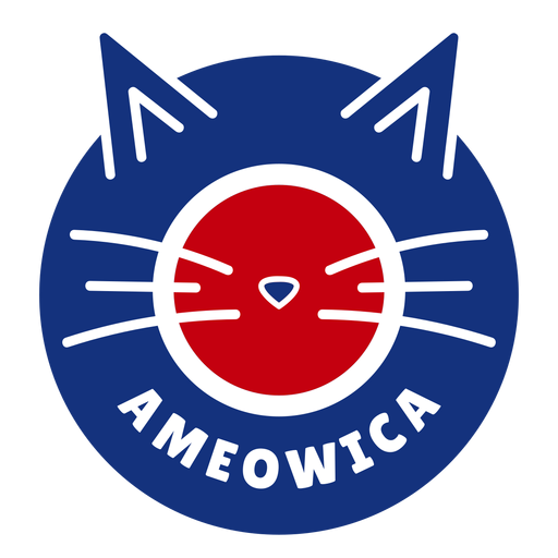 Ameowica cat design Transparent PNG